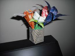 Flower Vase With Paper Easy Origami Vase Folding Instructions How To Make An Easy Origami