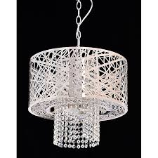 illuminate your home beautifully with this four light stainless chrome crystal chandelier by hermosa