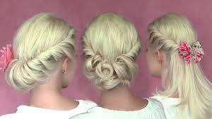 Hairstyle Medium Long Hair romantic updo hairstyles for new years eve for medium long hair 5334 by stevesalt.us