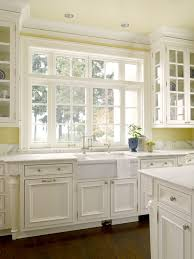 gorgeous white and yellow kitchen with yellow walls paint color and pale yellow painted ceiling