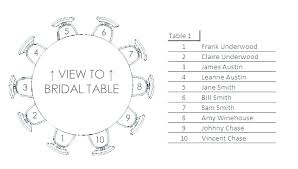 free seating chart template round tables table plan wedding luxury arrangement word