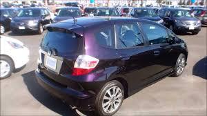 2013 Honda Fit Color Chart 2013 Honda Fit Sport In Midnight Plum Purple Color
