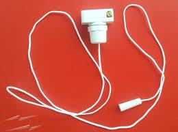 pcs 2amp mini pull cord switch in white 2a replacement pull 2amp mini pull cord switch in white 2a replacement pull cord switch