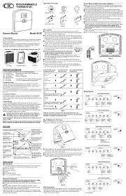 thermostat users guides thermostat page  43157 manuals 43157 manuals typical home thermostats connect wires