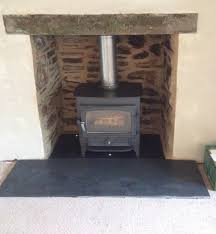 removing a stone fireplace