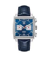 Tag Heuer Monaco Calibre 12 Blue Dial Gent Watch Caw2111