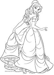 belle coloring pages belle coloring sheet princess belle free coloring disney princess coloring pages frozen on belle coloring pages