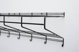 Wire Coat Rack Friso Kramer Black Wire Wall Mount Coat Rack For T' Spectrum 47