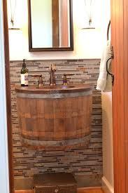 barrel sink bathroom best wine barrel sink ideas on barrel sink barrel jack daniels barrel bathroom
