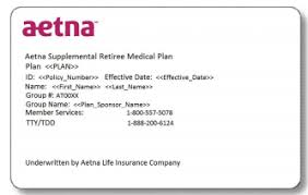Aetna Medical Plan Comparison Chart Aetna Insurance Card 2019 Seven Reasons Why You Shouldnt