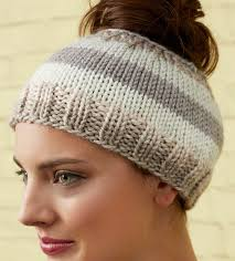 Ponytail Hat Knitting Pattern Gorgeous Messy Bun And Ponytail Hat Knitting Patterns In The Loop Knitting
