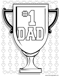 Small Picture Free printable Dad coloring page for Fathers Day This cute