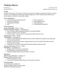 ... Extremely Creative Web Developer Resume 9 Best IT Web Developer Resume  Example ...