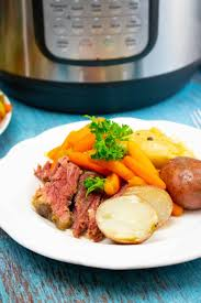 instant pot corned beef and cabbage a