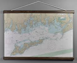 Ri Ct Ny Fishers Island Sound Ri Ct Ny Nautical Wall Chart