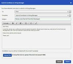 email sending resumes email example for sending resume