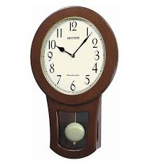 strike pendulum wall clock by rhythm