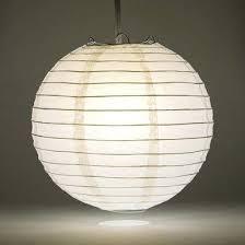 large lantern lighting white round paper lantern even ribbing hanging decoration large outdoor hanging lantern lights