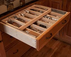 Amazing Kitchen Design With Drawer Inserts : Traditional Kitchen Toe Kick Drawers  Cabinets Honey Brook Custom