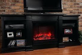 black electric fireplace entertainment center enterprise in