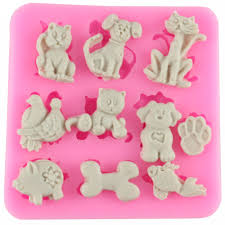 Cake Decorating Animal Figures Popular Mold Dogs Buy Cheap Mold Dogs Lots From China Mold Dogs