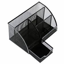 popular design metal desk organizer pen holder mesh organizer offers diffe compartment sizes that are suitable for storing small stationery items