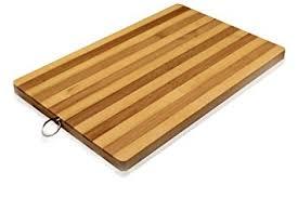 amazon com bamboo premium wood kitchen cutting board eco