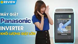 Máy giặt Panasonic 11.5kg: bảng điều khiển phía sau, nắp chống sập  (NA-FD11AR1BV) • Điện máy XANH - CiTiMart