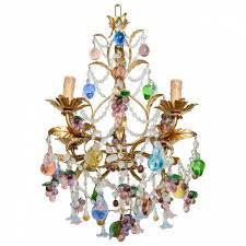 nice multi colored crystal chandelier applied to your house concept