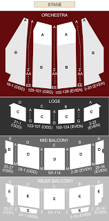 Ohio Theater Columbus Oh Seating Chart Stage