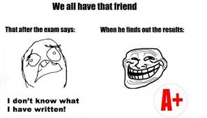 Image result for friends in exams