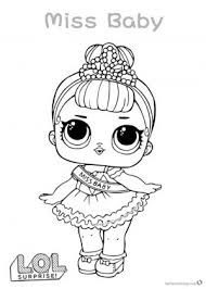 Printable Lol Doll Coloring Pages Free Coloring Sheets