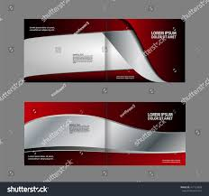 Colorful Bi Fold Brochure Design Corporate Leaflet Stock Vector ...
