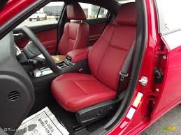 Black/Red Interior 2012 Dodge Charger R/T Plus Photo #58079765 ...