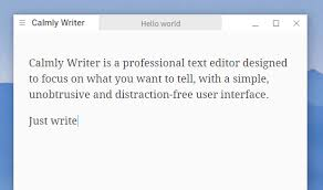 calmly writer the ultimate distraction writing tool distraction writing