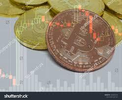 Bitcoin Exchange Chart Bitcoin Crypto Exchange Stock Photo