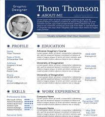 One Page Resume Format Simple One Page Resume Format From 28 E Page Resume Templates Free Samples