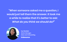 How to Manage a Sales Team, with Ivy Gordon of Unbounce