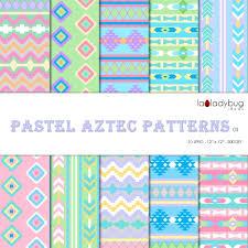 Aztec Patterns Custom Design Ideas