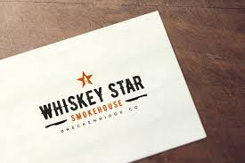 Smokehouse A Design Company Logo Design For Whiskey Star Smokehouse Breckenridge Co