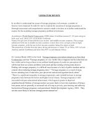 social studies sba template on teenage pregnancy 4