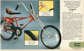 chopper style bike from 1977 remembering the 70s