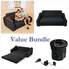 inflatable sofa bed mattress inflatable sofa air chair pull out couch queen bed 5 in 1 double mattress s lazy boy sofa bed inflatable mattress