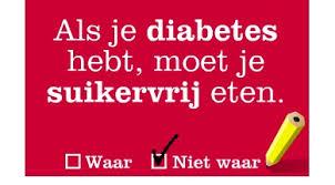 diabetes eten en drinken