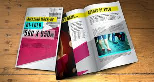 Free Two Fold Brochure Template 30 Free Brochure Templates For Download Hative