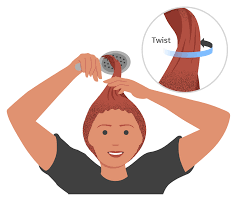 how to cut hair give yourself a