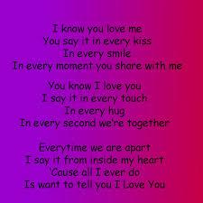 Boyfriend Love Poems