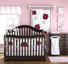 ladybug toddler bedding sets endearing nice mini crib bedding design with lovely pink white ladybug baby ladybug toddler bedding