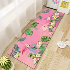 pink flamingo kitchen rugs flamingo rugs with free for home decor
