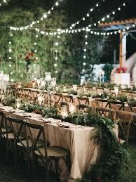 wedding table lighting. Creative String Light Ideas For A Romantic Wedding Reception Table Lighting